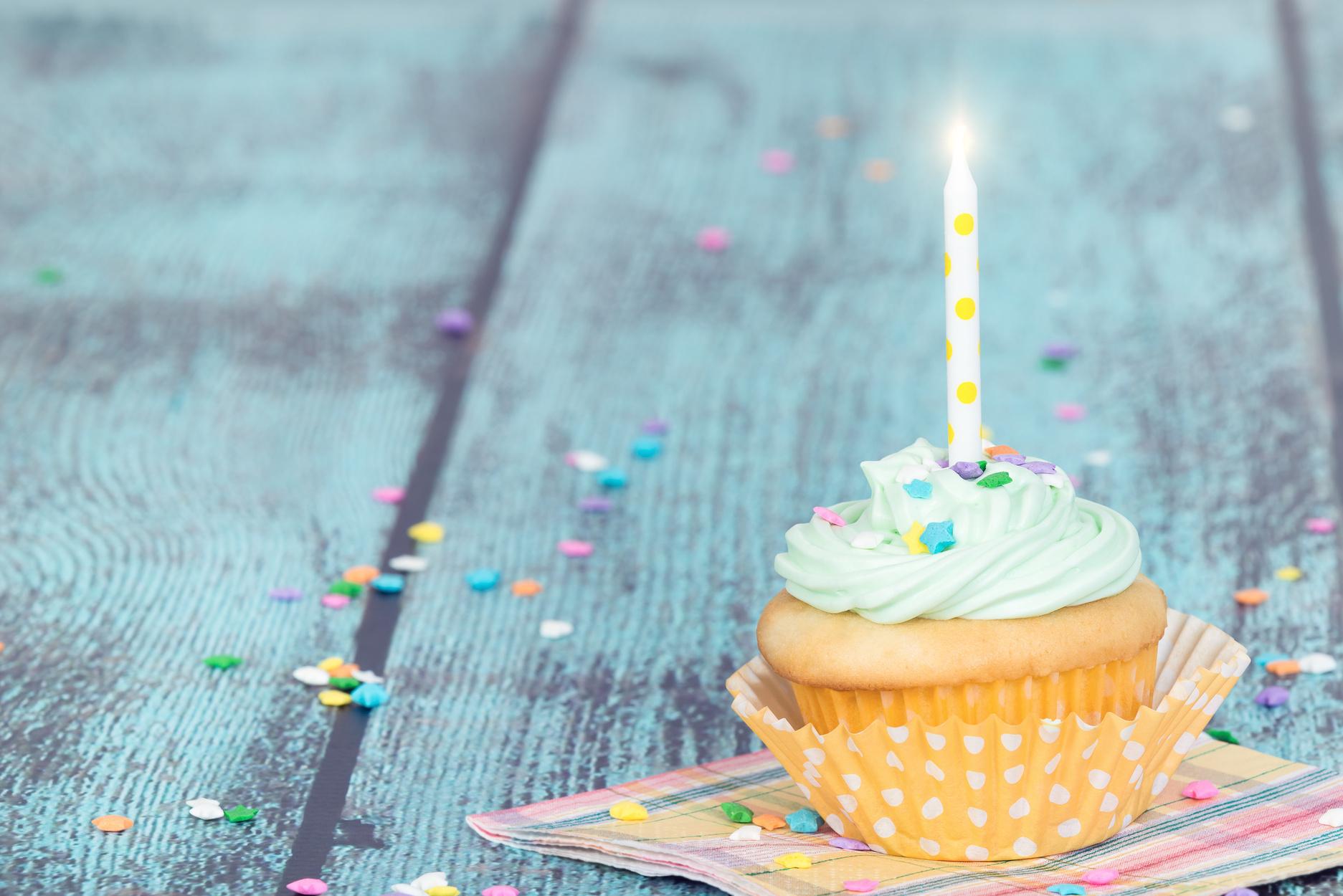 The Perfect Birthday Cupcake Recipe
