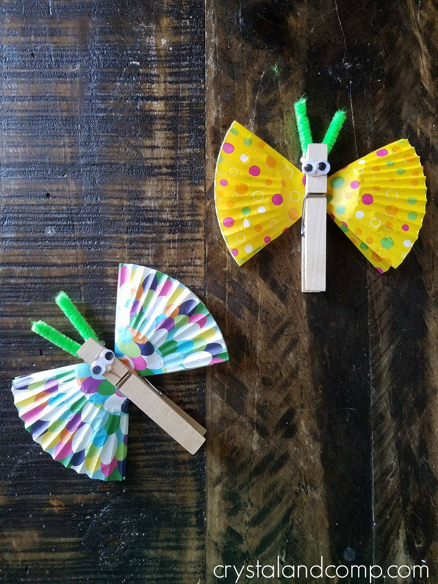 B Is For Butterfly Craft