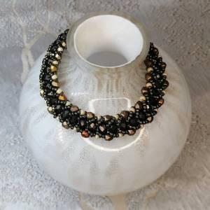 Handmade Crystal Bracelets Pewter