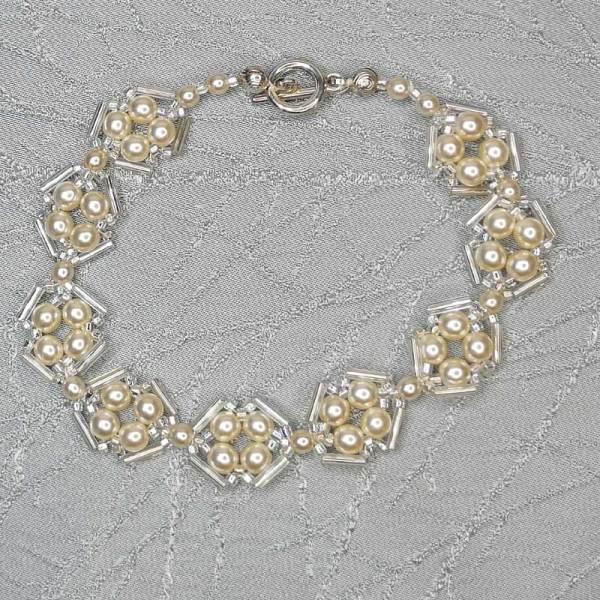 Pearl Design Bracelets handmade by Max