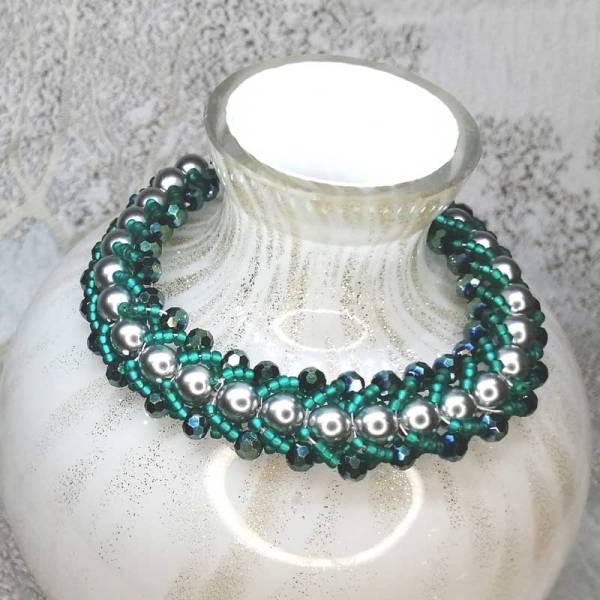 Jade Green Crystal Bracelet