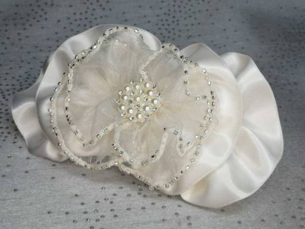 Cream Bridal Hair Comb 14cm