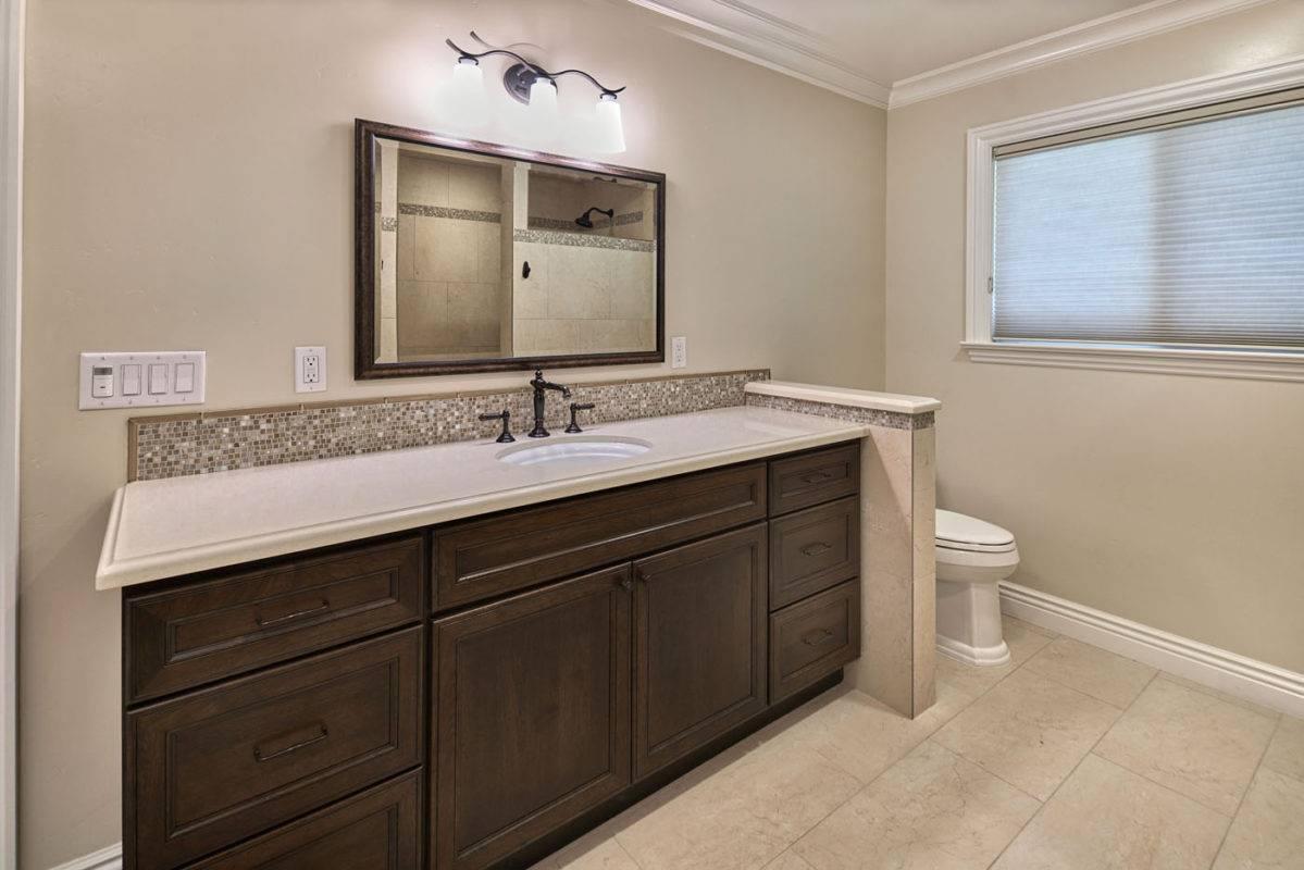 Dark Brown Bathroom Cabinets
