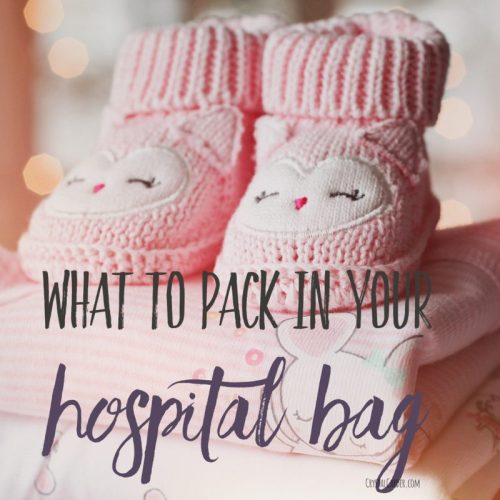 Labor Tip Hospital Bag what to pack
