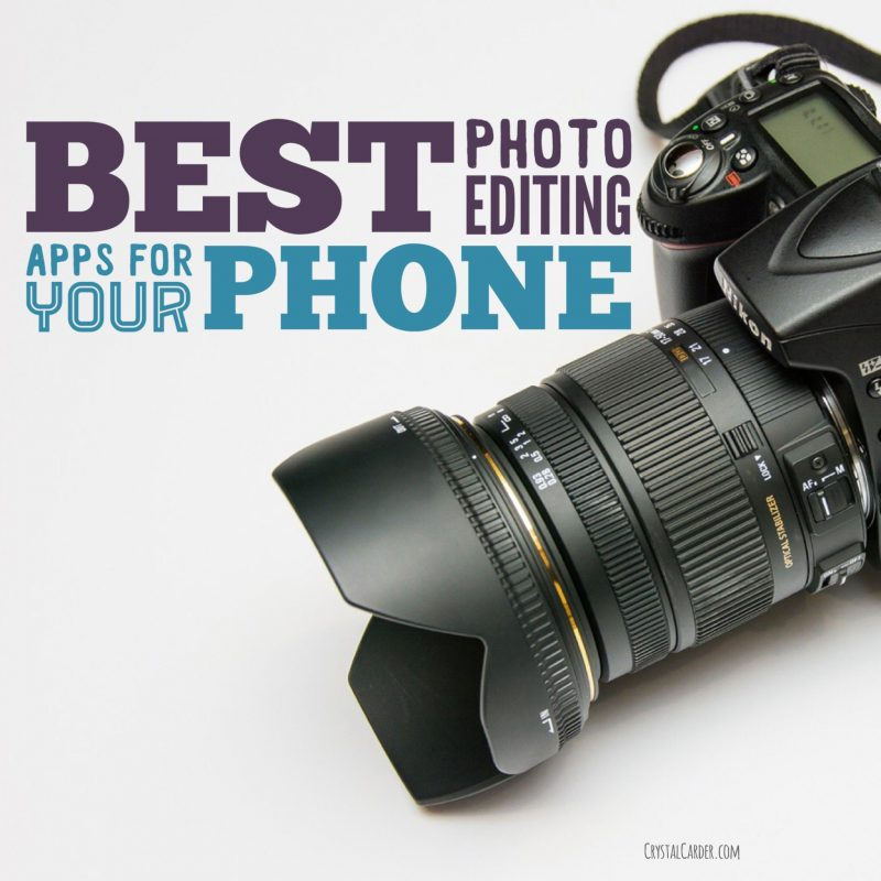 The Best Photo Editing Apps For Your Phone