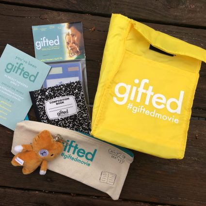 Enter to Win Gifted Movie Swag