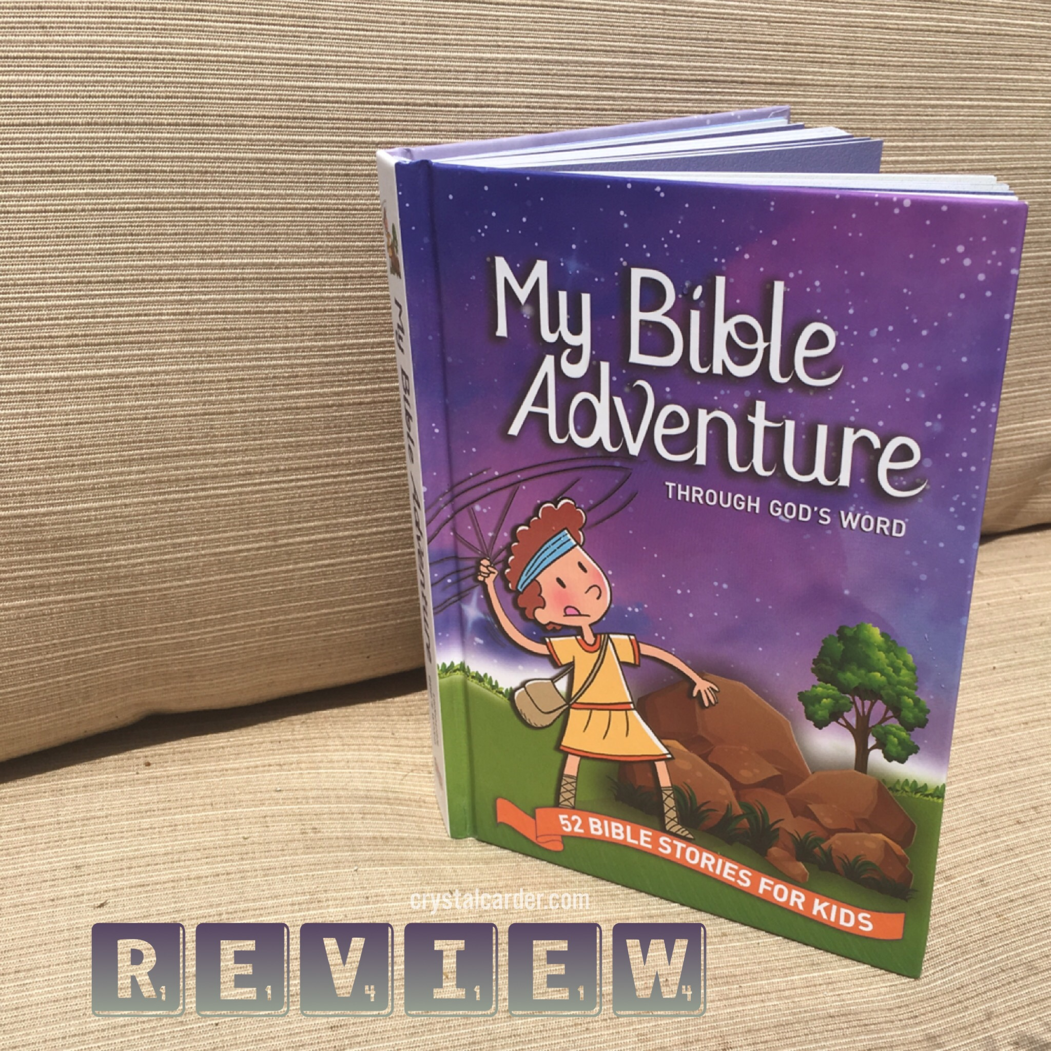 My Bible Adventure Through God's Word 52 Bible Stories for
