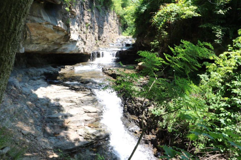 White Park Waterfall, A Hidden Gem in Morgantown, West Virginia