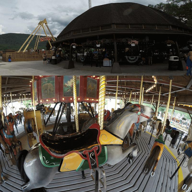Carousel at Delgrosso's Amusement Park