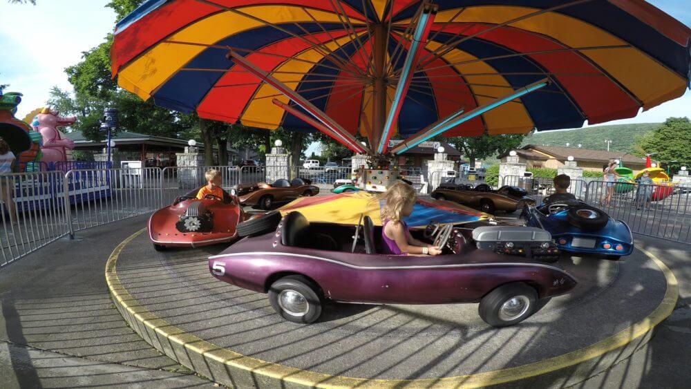 Kids at Delgrosso's Amusement Park