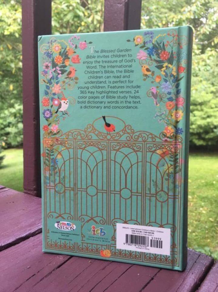 ICB Blessed Garden Bible Review