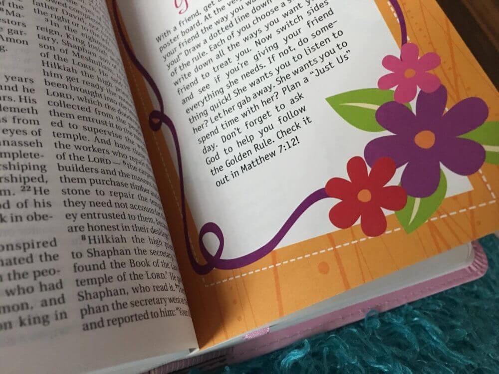 Faithgirlz Backpack Bible Review