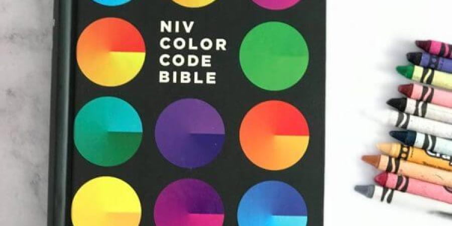 NIV Color Code Bible for Kids Bible Review