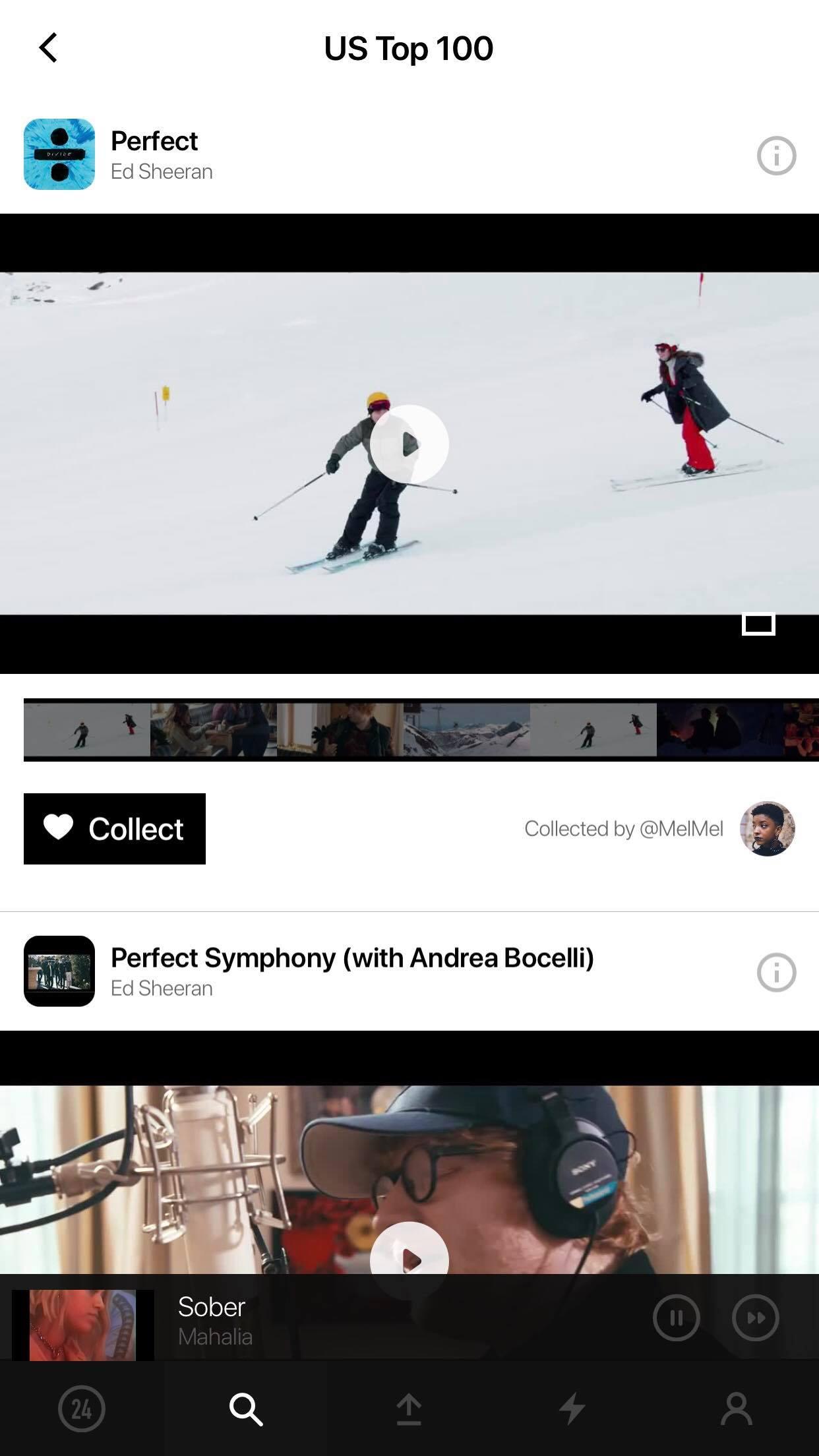 VIBBIDI COLLECT SONG MUSIC APP