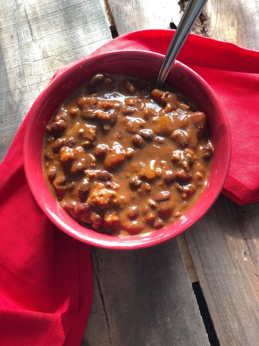 Wintry Day Chili Recipe