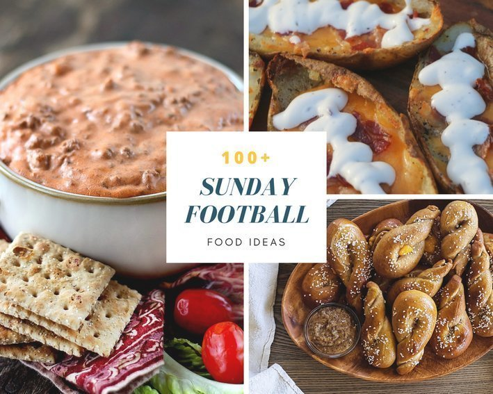 Super Bowl Sunday: 100+ Sunday Football Food Ideas