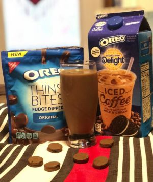 Take a Mom Break With OREO Thins Bites and International Delight OREO Iced Coffee At Walmart Plus Save Big With Ibotta