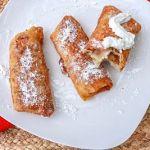 New Fall Favorite Dessert: Apple Crisp Egg Rolls Recipe