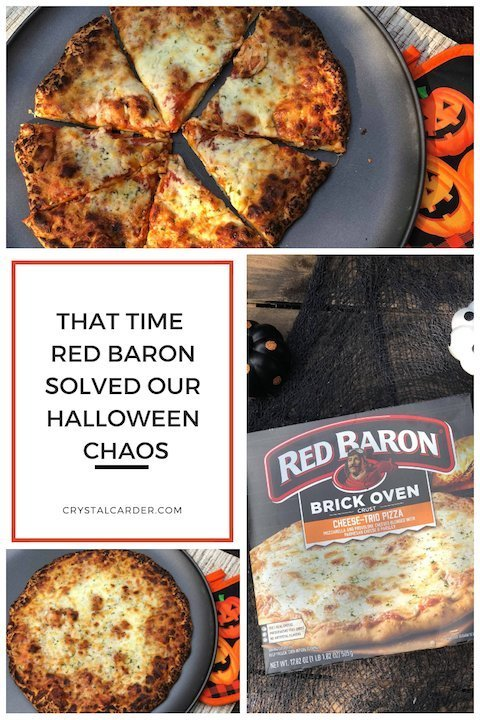 Halloween Chaos – Solved With Red Baron Pizza