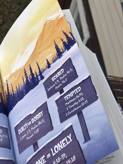 Take your children on a frosty adventure with the NEW Adventure Bible Polar Exploration Edition! #PolarAdventureBible #FlyBy