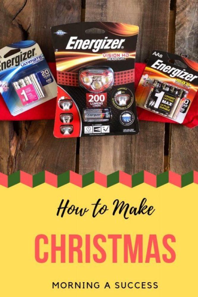 make Christmas morning a success