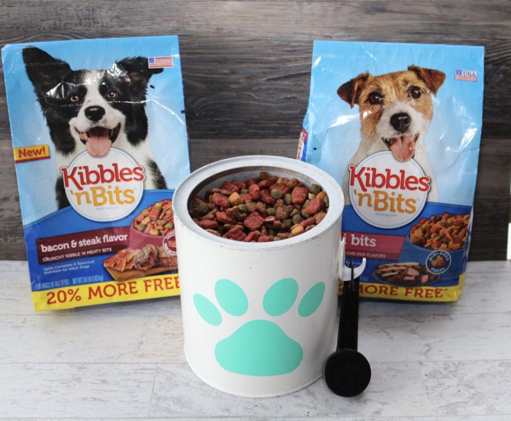 Stylish Pet food storage container diy ad