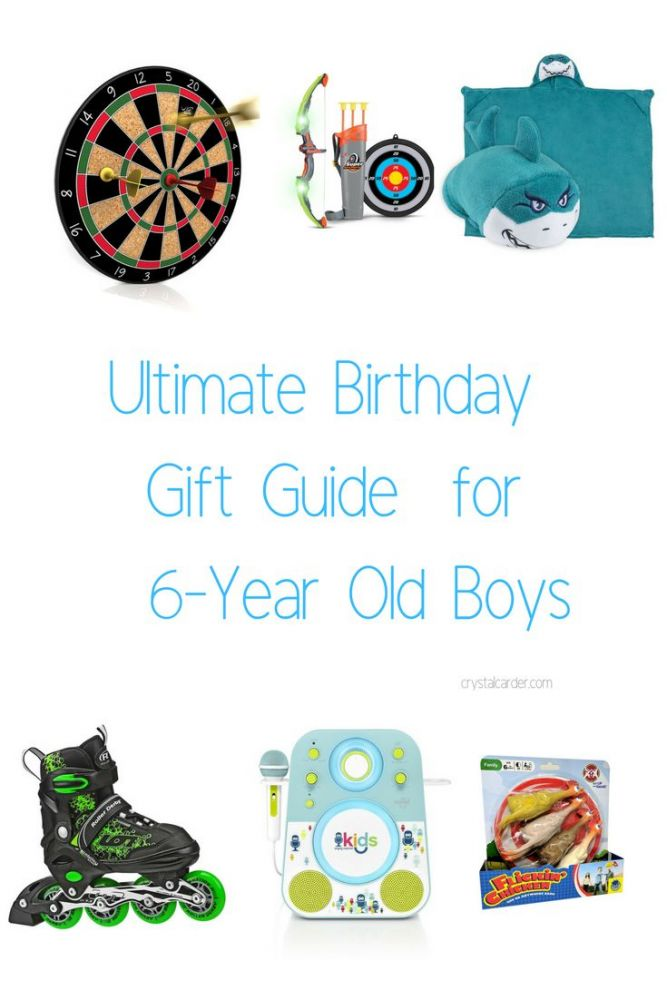 Ultimate Birthday Gift Guide 6 year old boys