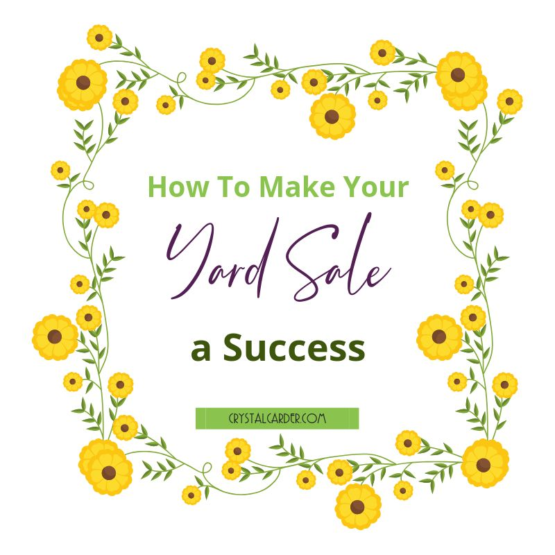 How to Make Your Yard Sale a Success! 81