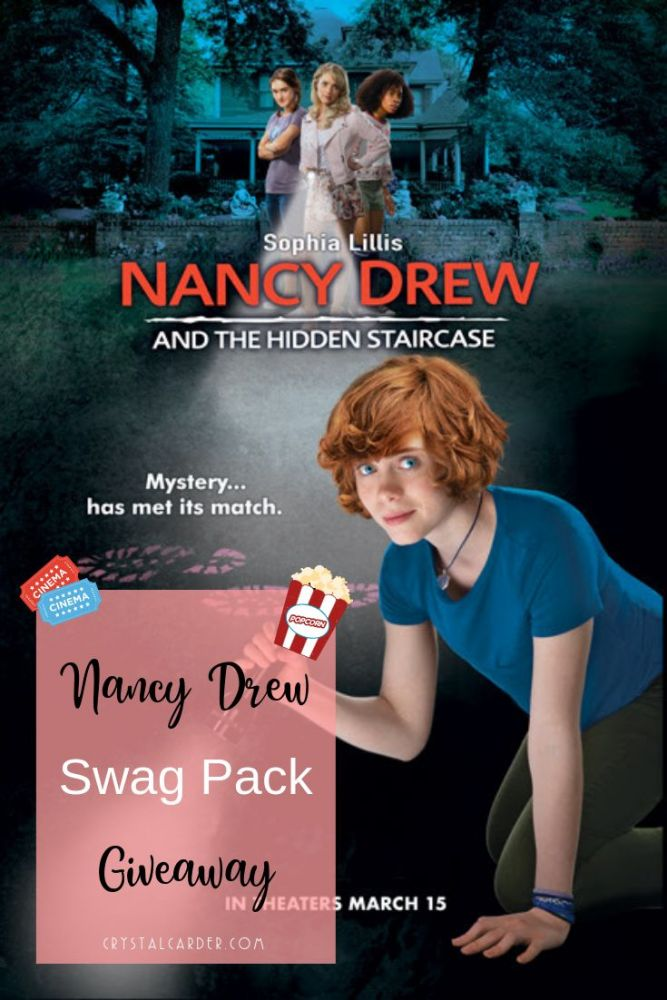 #AD Enter for your chance to win a #NancyDrew and #TheHiddenStaircase swag pack! https://bit.ly/2F0Rsod While you're entering, be sure to play the fun interactive game, too!
