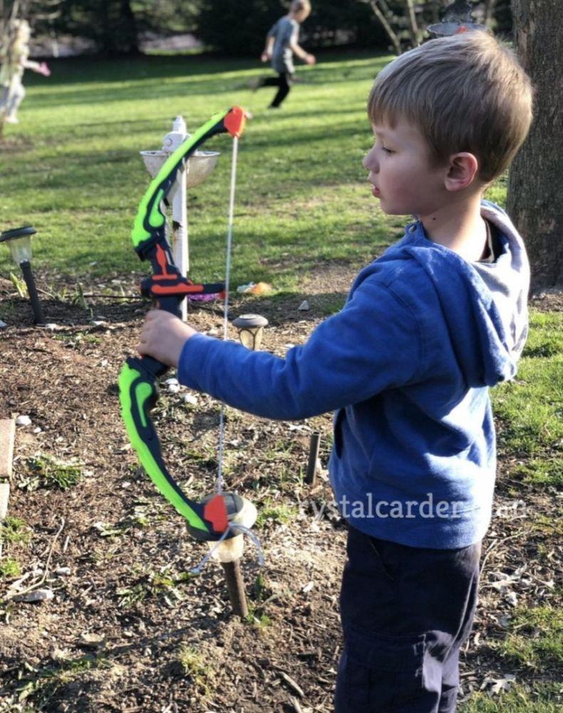 SainSmart Jr Toy Archery Set With Target