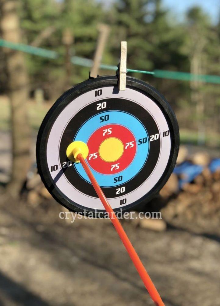 target of the SainSmart Jr Toy Archery Set With Target