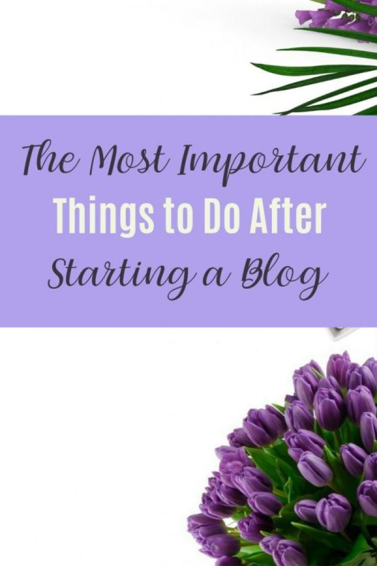 The Most Important Things to Do After Starting Your Blog 74