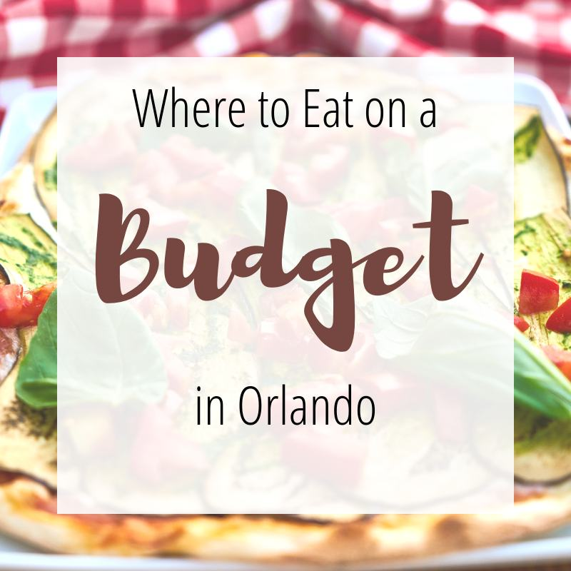 Where to eat on a budget in orlando
