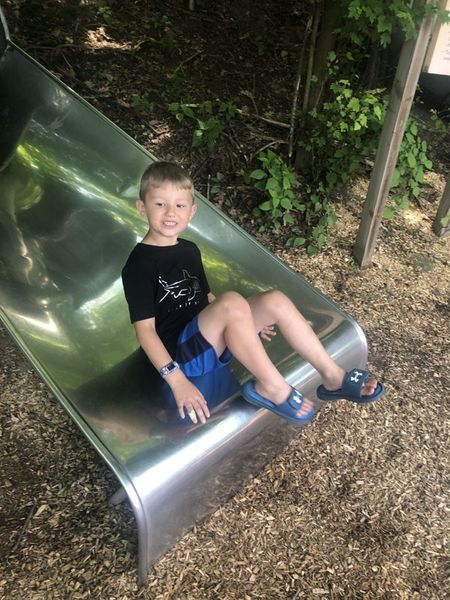 Kids Kingdom slides at Pittsburgh Zoo