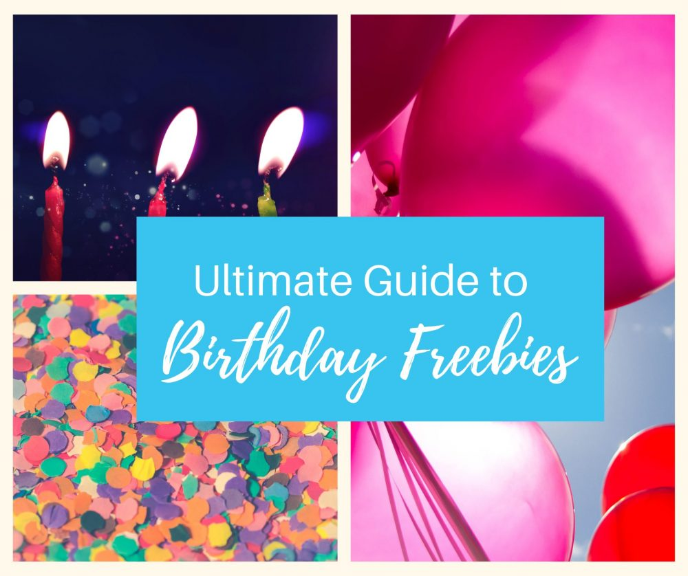Your Guide to the Best Birthday Freebies 81