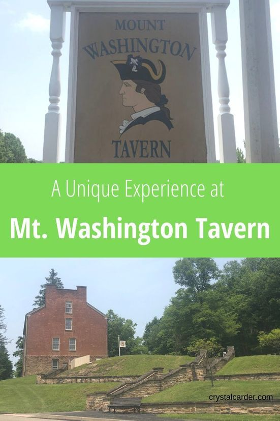 A unique experience at Mt Washington Tavern