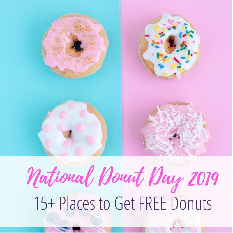 National Donut Day Where to Get Free Donuts