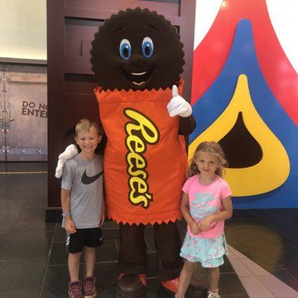 Meet and Greet Hershey's Chocolate World