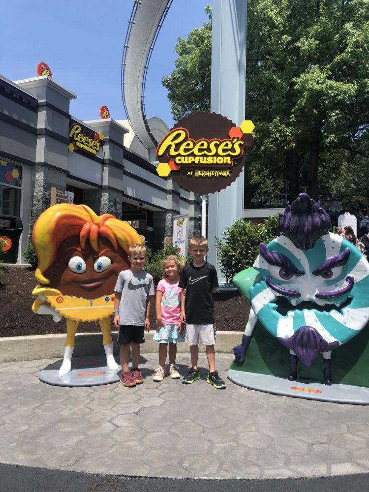 NEW! Reese Ride at Hershey Park