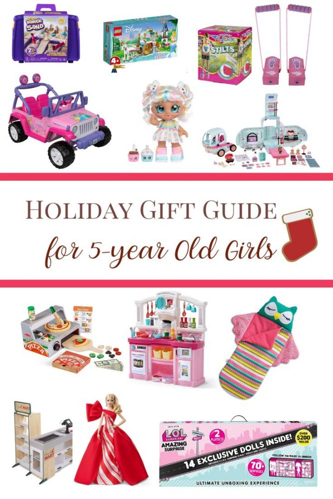 Holiday Gift Guide for 5 Year Old Girls