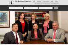 image of responsive website for jacksonville nc lawyer