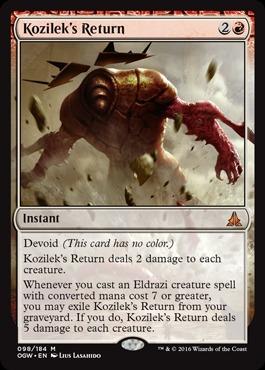 Kozilek's Return