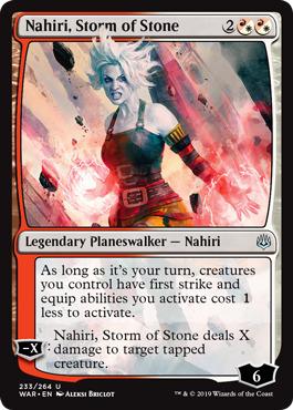 Nahiri, Storm of Stone