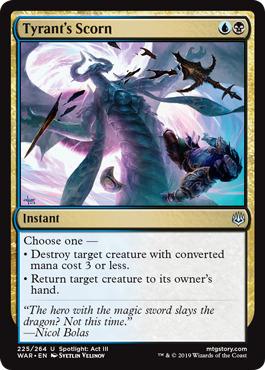 Tyrant's Scorn - Foil