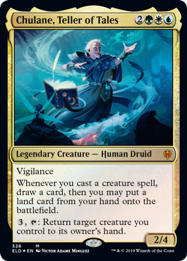 Chulane, Teller of Tales - Foil - Brawl Deck Exclusive