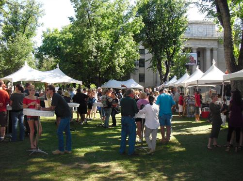 Enjoy Prescott Fine Arts and Wine Festival for Mother's Day