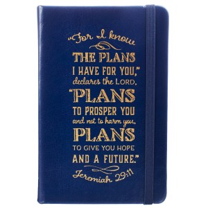 Jeremiah 29:11 I Know The Plans (Luxleather Notebook)
