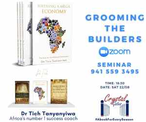 Grooming The Builders with Dr Tich Tanyanyiwa on Zoom @ Crystal Gates | Harare | Harare Province | Zimbabwe