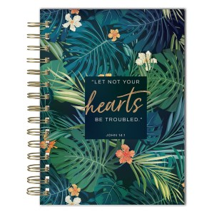 Let Not Your Hearts Be Troubled (Wirebound Journal)