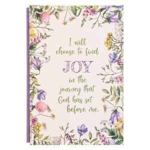 I Will Choose To Find Joy (Quarter-Bound Hardcover Journal)